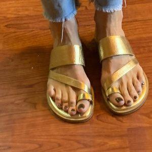 COPY - Michael Kors Pratt leather sandals